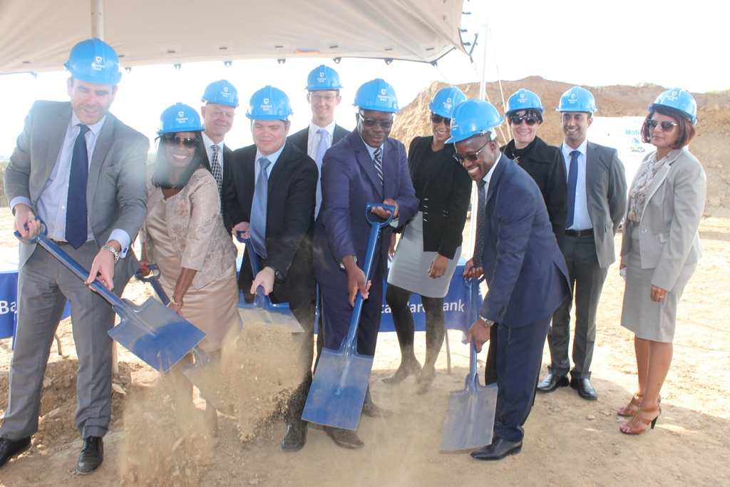 Standard Bank breaks ground for New Head Office