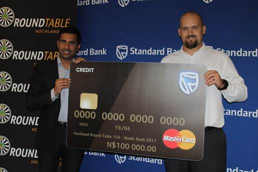 Standard Bank gives Medic RUSH a helping hand