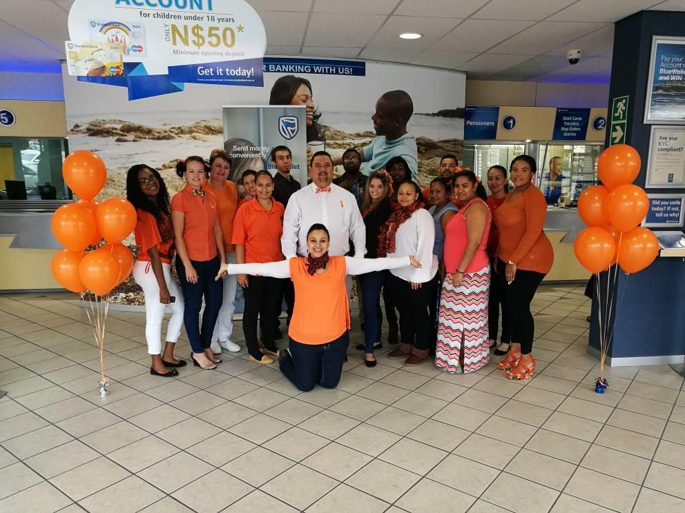Standard Bank supports MS orange drive