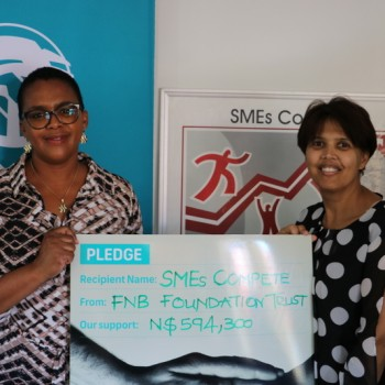 First National Bank Donation