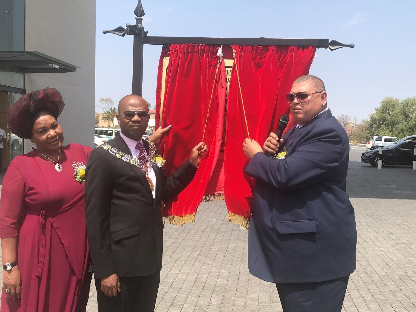 City of Windhoek Mass Street renaming