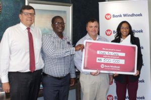 Bank Windhoek contributes to fighting drought
