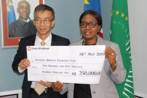 Uranium mine donates towards drought relief