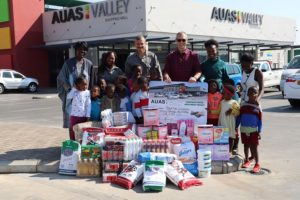 Auas Valley Shopping Mall gives back