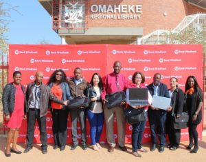 Bank Windhoek donates laptops to Omaheke Regional Library