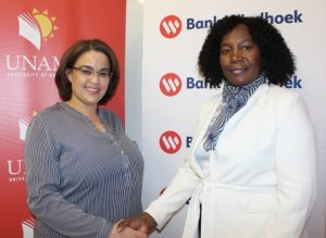 Bank Windhoek supports UNAMs Chancellors Charity Golf Day