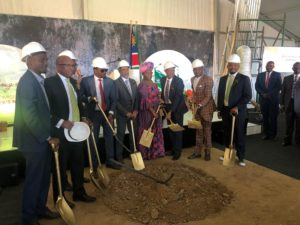 Ongos Valley Groundbreaking