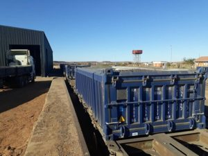 Trans Namib Rails First Shipment Of Manganese