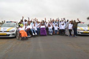 MVA Fund hosts 10th Wheelchair Fun Ride for claimants at Swakopmund