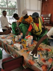 Capricorn Group donates food hampers to Car-Guards