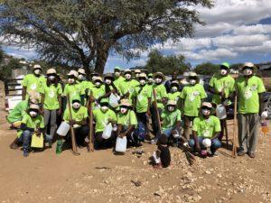 Tippy taps for informal settlements