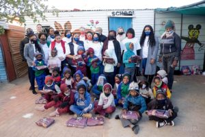 Capricorn Group employees warm the hearts of vulnerable children in the Hakahana Community