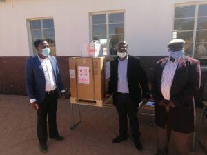 FNB donates equipment to Otjohorongo Primary School