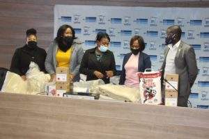 San community in Otjozondjupa receives food and blankets from NCT