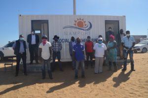 Ablution facilities worth N.dollars 100 000 donated to Twaloloka settlement