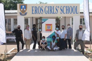 Eros Girls School shines brightly after renovations