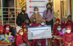 Capricorn Foundation supports pre-schools in informal settlements