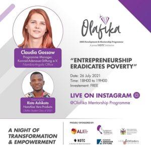Entrepreneurship eradicates poverty