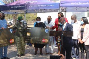 Standard Bank donates to aid Tsumkwe